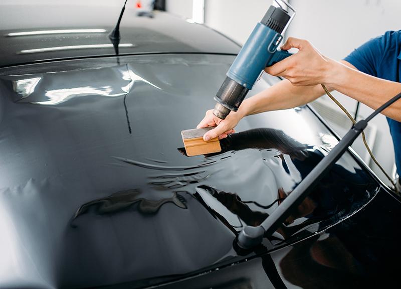 Instalacion lamina solar en coche 7